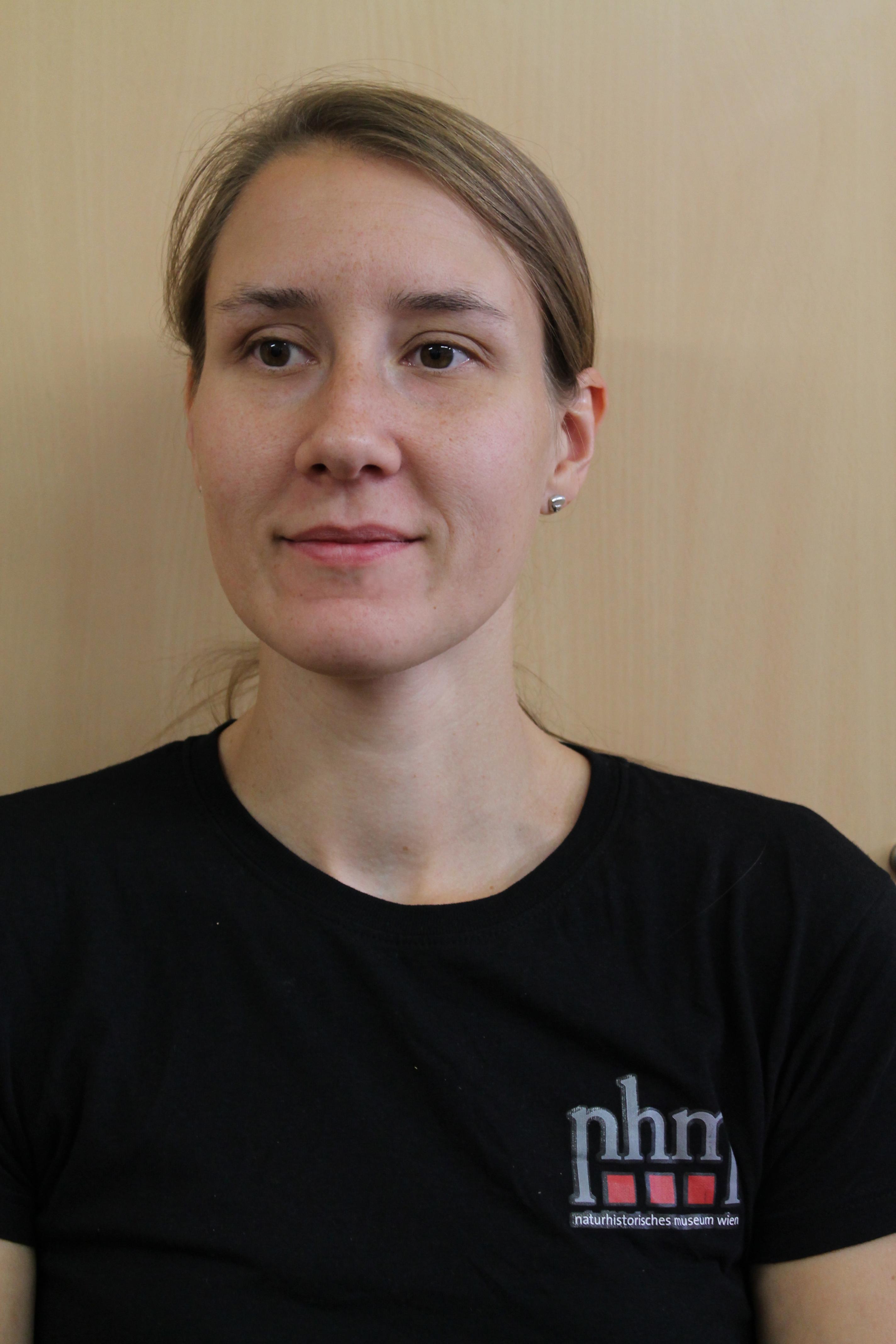 Naturhistorisches Museum Wien Staff Nathalie Wallner
